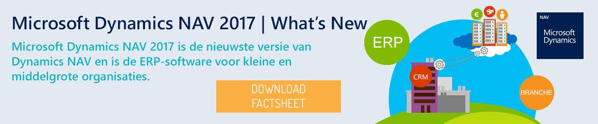 Microsoft Dynamics NAV 2017 | What's New