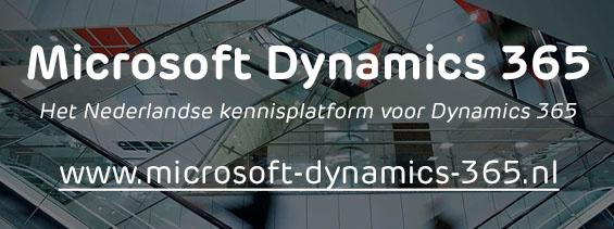 Microsoft Dynamics 365 | Het Nederlandse kennisplatform