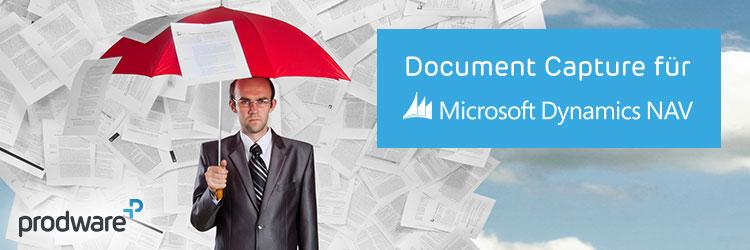 Document Capture - Innovatives Add-On für Microsoft Dynamics NAV